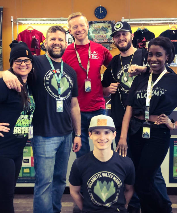 Photo of budtender team